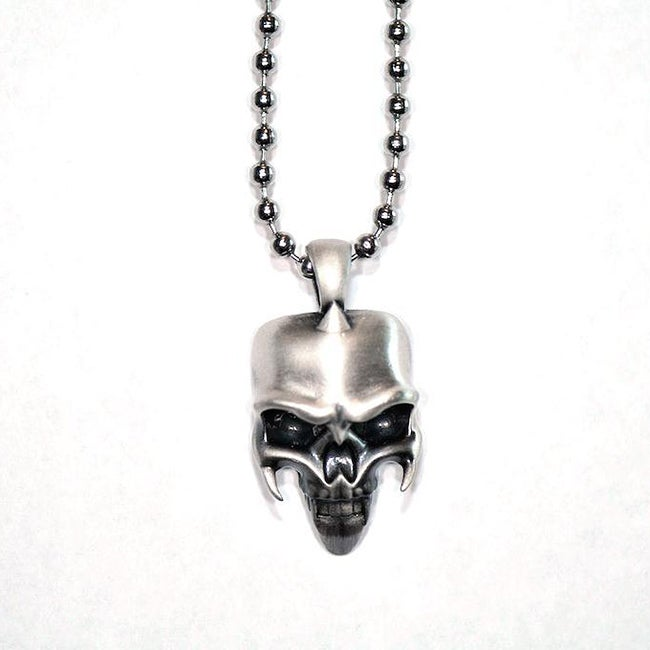 Fine Grade Pewter Strigoi Pendant Necklace