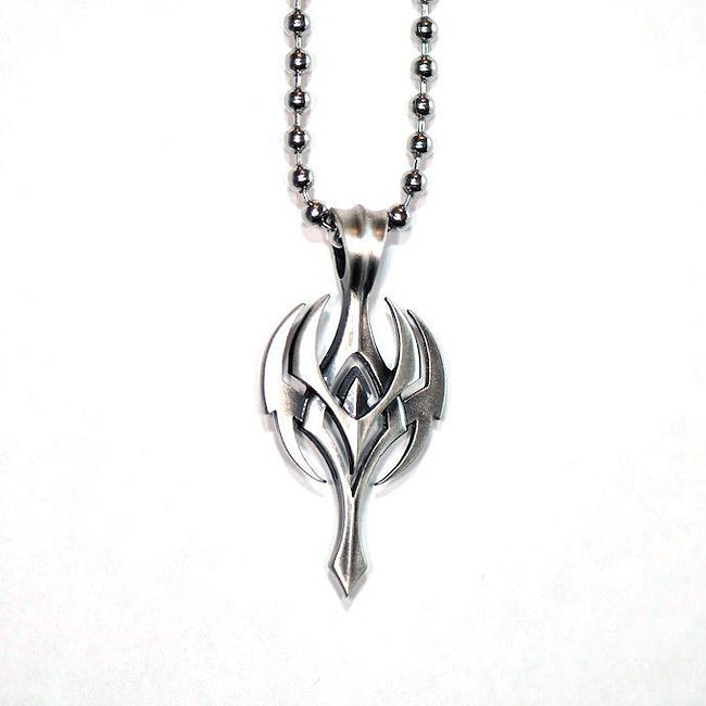 Fine Grade Pewter Thantos Pendant Necklace