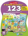 Learn & Play Floor Puzzle 123: Give Kids a Head Start on Learning Their Numbers With This Educational Activity Set! (Hardcover)