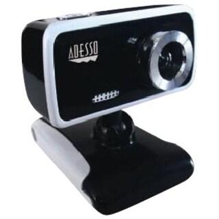 Adesso CyberTrack V1 Webcam - 0.3 Megapixel - 8 fps - USB 2.0