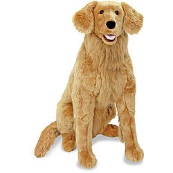 Melissa & Doug Plush Golden Retriever Stuffed Animal