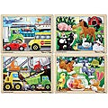 Melissa & Doug Jigsaw Puzzle Bundle (Pack of 4)