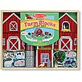 Melissa & Doug Farm Blocks Play Set