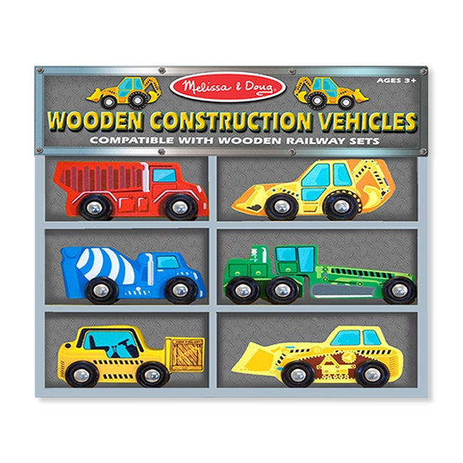 Melissa & Doug Construction Vehicles