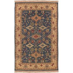 Hand-knotted Laramie Semi-worsted New Zealand Wool Rug (10' x 14')