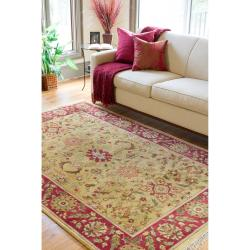 Hand-knotted Babylon Semi-worsted New Zealand Wool Rug (3'9 x 5'9)