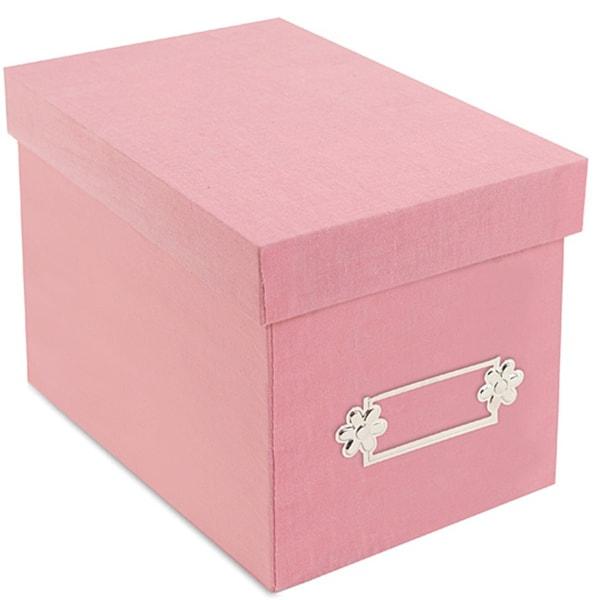 Sizzix Accessory - Large Storage Box, Pink