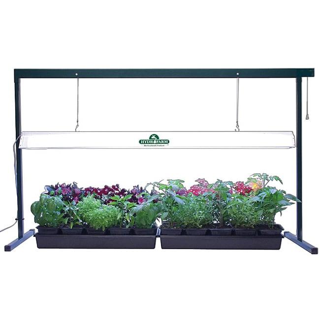 Indoor plant grow light system kit greenhouse garden for Indoor gardening lighting guide