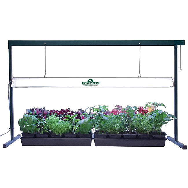 indoor plant grow light system kit greenhouse garden growing lamp stand seeds ebay. Black Bedroom Furniture Sets. Home Design Ideas