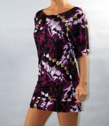 Institute Liberal Tye Dye Kimono Sheath Mini Dress