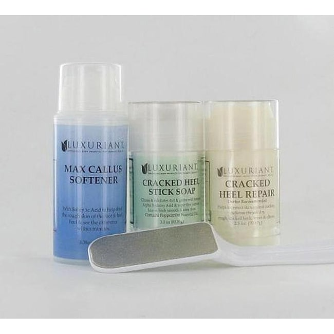 Luxuriant Four-piece Foot Soap Essentials Kit for Cracked Heels