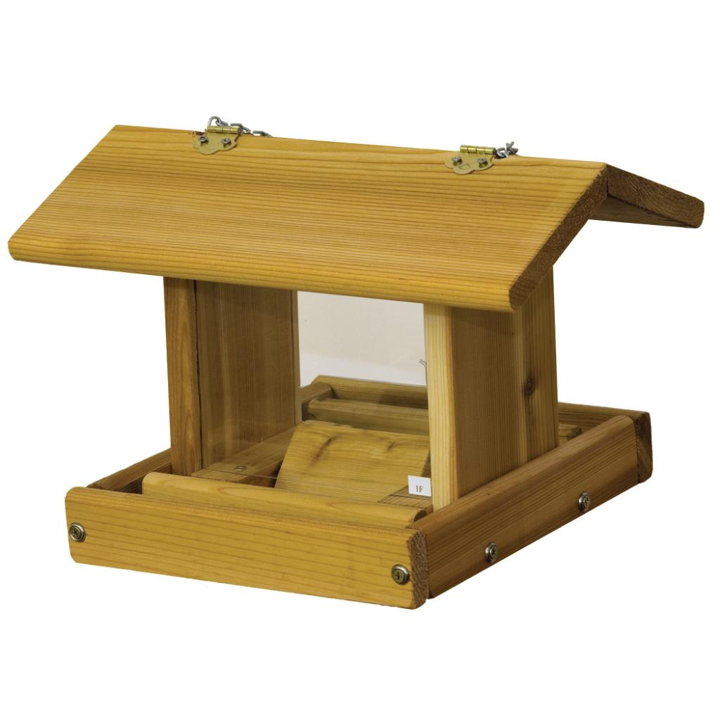 Hanging Hopper Bird Feeder with Chain (Small)