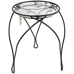 "'The Elegance' Plant Stand, Black (17"" Inches)"