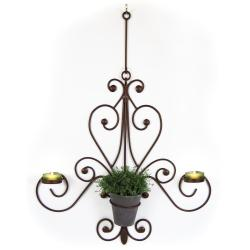 Plastec Bronze Chandelier Wall Piece