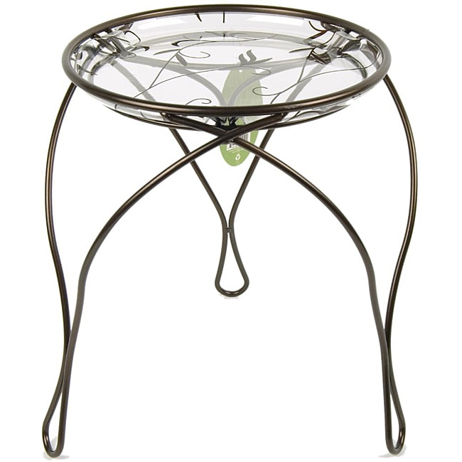 "'The Elegance' Plant Stand, Dark Bronze (13"" Inches)"