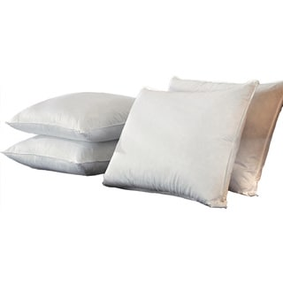 Famous Maker Premium Microfeather Triple Chamber Pillows (Set of 4)