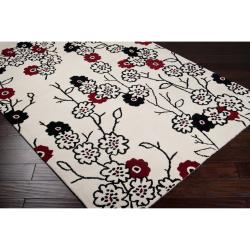 Hand-tufted Buxton New Zealand Wool Rug (5' x 8')