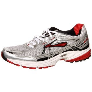 Brooks Men's 'Adrenaline GTS 11' Silver/Red Athletic Shoes