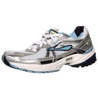 Brooks Women's 'Adrenaline GTS 11' White/Blue Athletic Shoes
