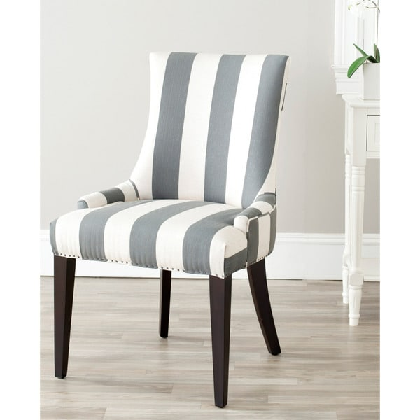 Safavieh En Vogue Dining Becca Grey Side Chair