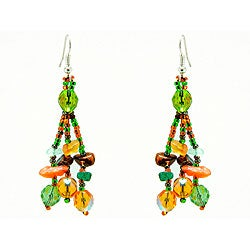 Earrings Luzy Foilage Earings (Guatemala)
