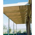 Gale Pacific 302245 Coolaroo 6' x 15' Extra Heavy Shadecloth Roll - Wheat