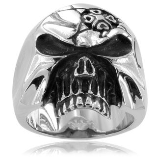 Stainless Steel Men's Skull Ring