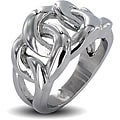 West Coast Jewelry Stainless Steel Men's Eternal Link Ring
