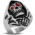 West Coast Jewelry Stainless Steel Men's Grim Reaper Ring
