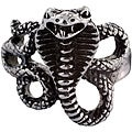 Stainless Steel Men's Snake Ring