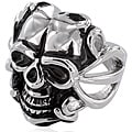 Stainless Steel Men's Evil Skull Ring