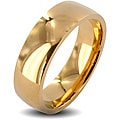 West Coast Jewelry Stainless Steel Goldplated Wedding Band Ring (6mm)