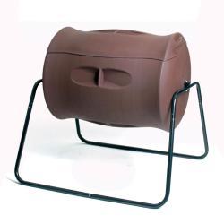 Algreen Terra Chocolate Brown Compost Tumbler (55 Gallon)
