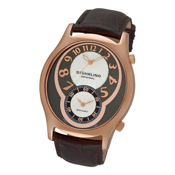 Stuhrling Original Men's Kensington Grand Swiss Quartz Watch
