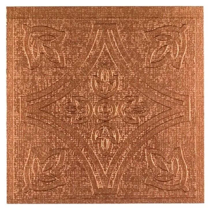 "Self Stick Copper Vinyl Wall Tiles Backsplash (4""x4"") 3 Square Feet"