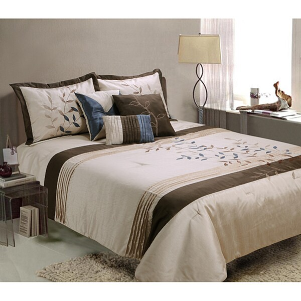 Gwynth 7-piece Queen-size Comforter Set