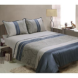 Zuma 4-piece King-size Comforter Set