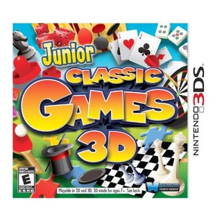 Nintendo 3DS - Junior Classic Games