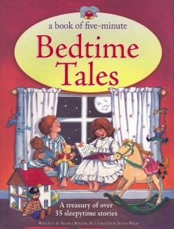 A Book of Five-Minute Bedtime Tales: A Treasury of over 35 Sleepytime Stories (Paperback)