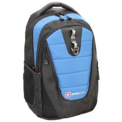 "Wenger SwissGear ""The Anthem"" Blue Laptop Backpack 16-inch"