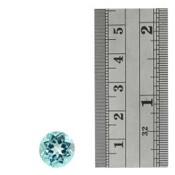 Glitzy Rocks Round 13mm 10ct TGW Blue Topaz Stone