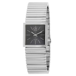 Calvin Klein Women's 'Spotlight' Stainless Steel Quartz Watch