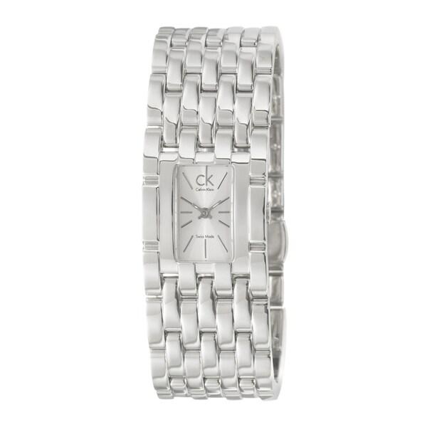 Calvin Klein Women's 'Braid' Stainless Steel Quartz Watch