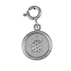 Sterling Silver '7 Wishes' Health Charm