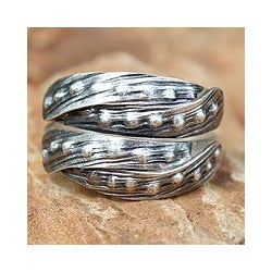 Sterling Silver 'Both of Us' Ring (Thailand)