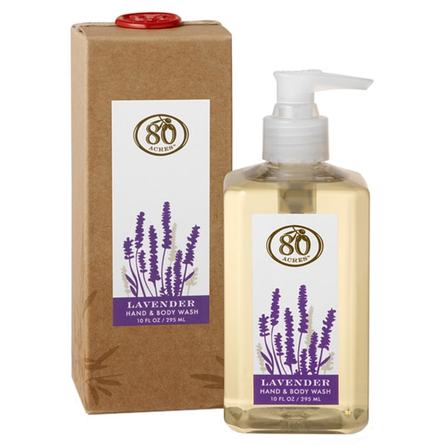 80 Acres Lavender Hand and Body Wash