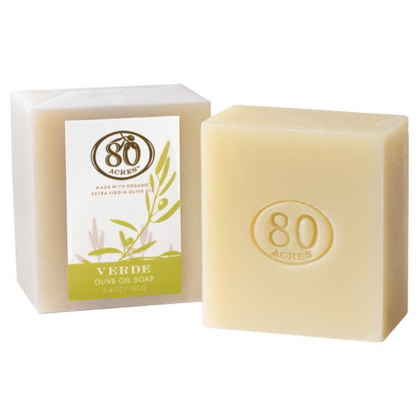 80 Acres 5.4-ounce Verde Olive Oil Soap