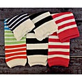 Stripe Leg Warmer Three-Piece Set