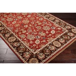 Hand-knotted Brackley Handspun New Zealand Wool Rug (5' x 8')
