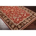 Hand-knotted Brackley Handspun New Zealand Wool Rug (5' x 8')